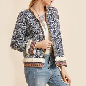 Light Fringe Jacket
